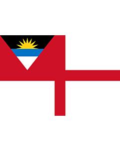 Flag: Coastguard Ensign of Antigua and Barbuda