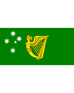 Flag: Australian Irish heritage