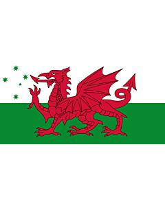 Flag: Australian Welsh heritage