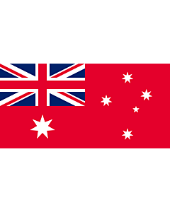 Flag: The Australian Red Ensign