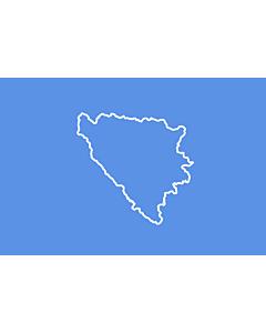 Flag: BiH  First set of proposal 3   Third alternative flag of the First set of Proposals for the Bosnian Flag change