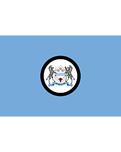 Flag: Standard of the President of Botswana