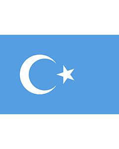 Flag: Kokbayraq  flag