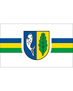Flag: German municipality of Graal-Müritz