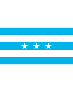 Flag: Guayaquil | City Santiago de Guayaquil in Ecuador; Flag of the Guayas Province