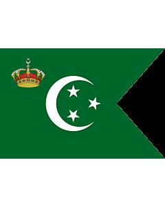 Flag: Royal Standard of The Crown Prince of Egypt 1922-53