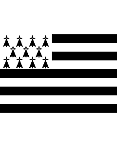 Flag: Brittany  Gwenn ha du