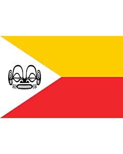 Flag: Marquesas Islands, part of French Polynesia