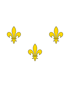Flag: Royalist France | Royalist France prior to 1789 and from 1814-30 I created this image as a vector replacement for Image French Fleur-De-Lis  White