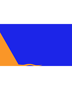 Flag: Sunburst | Modern design of the Irish nationalist  Sunburst flag