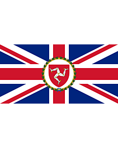 Flag: This flag was originally uploaded as w en Image Flag of the Governor of the Isle of Man