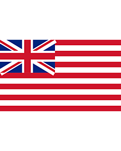 Flag: British East India Company  1801 | British East India Company