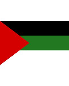 Flag: Arab revolt of 1917  Hashemites