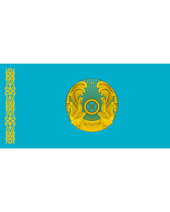 Flag: Standard of the President of Kazakhstan