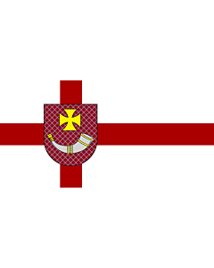 Flag: City of Ventspils, Latvia