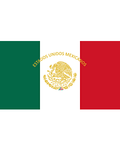 Flag: Mexican Presidential Standard