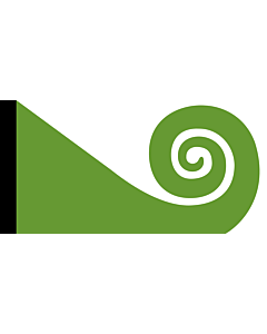 Flag: Koru | This image shows the popular Koru Flag