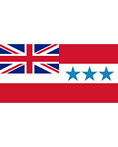 Flag: Rarotonga  now Cook Islands  from 1858 to 1893