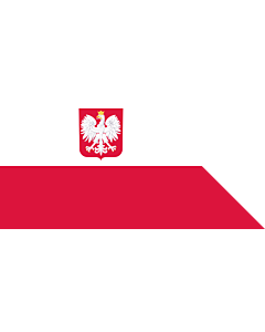 Flag: Naval Ensign of Poland
