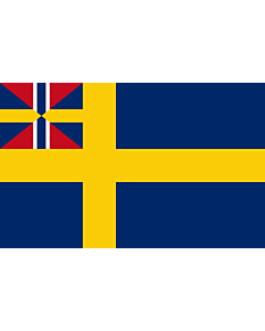 Flag: Swedish norwegian union