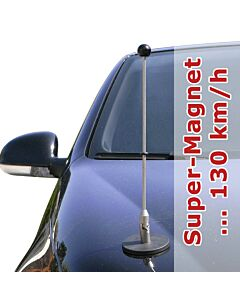 Magnetic Car Flag Pole Diplomat-1.30