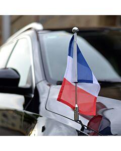 Car Flag Pole Diplomat-Z-Chrome-PRO