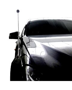 Car Flag Pole Diplomat-Z-Chrome-MB-W212  for Mercedes-Benz E (W212) (2009-2016)